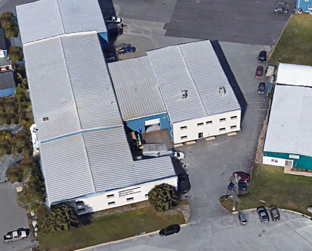 Atlantic Hardchrome's Burnside Industrial Park Campus (aerial photo)